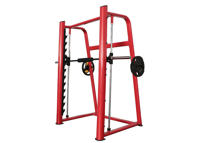 Durable Commercial Grade Gym Equipment , Squat Power Rack Life Fitness Gear Smith Machine